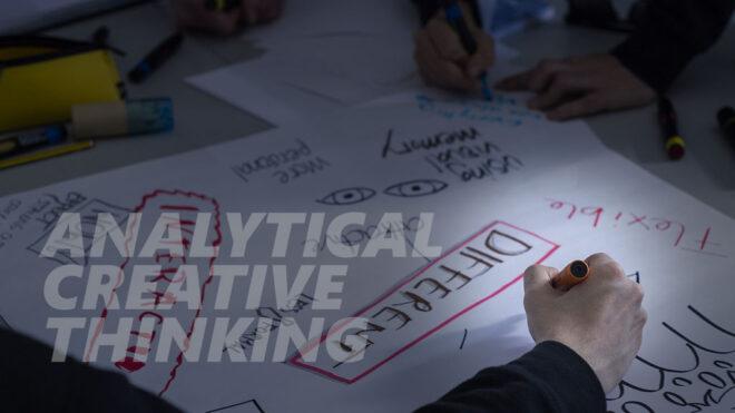 Analytical creative thinking