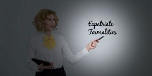 Formalities Ekspatriat
