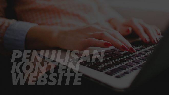 Penulisan Konten Website